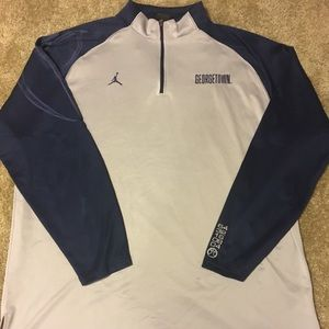Nike Jumpman Georgetown Hoyas Bball warmup XXL